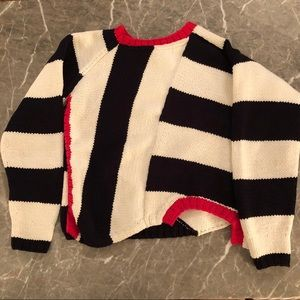 Spencer Vladimir Hand Knit Cropped Sweater